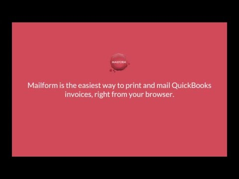 Easily Mail your Quickbooks Invoices: Almost $1M in invoices sent!