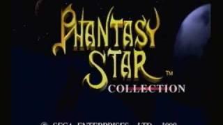 Phantasy Star Collection (Sega Saturn) - Title screen +  TV Commercial