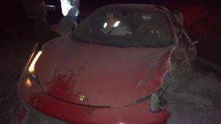 Arturo Vidal protagonizó accidente automovilístico en Ruta del Maipo