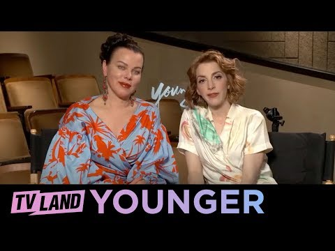 Q&A w Debi Mazar & Molly Bernard  Younger  Season 5