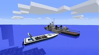 Minecraft  сериал Корабль: 3 серия. Поход на яхту