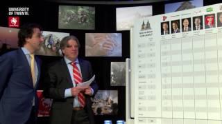 Van Torentje naar Torentje: Jesse Klaver (GroenLinks) weigert prognose in te vullen (TV Enschede)