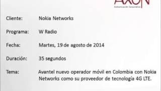 W Radio - Nokia Networks es el proveedor de tecnología 4g LTE para Avantel