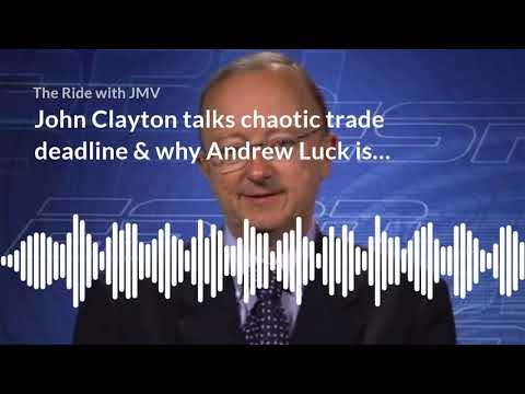John Clayton On The Chaotic NFL Trade Deadline