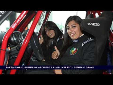 TARGA FLORIO, GOMME DA ASCIUTTO E RUOLI INVERTIT. GEMMA E' GRAVE del 22-04-2017