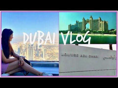 DUBAI & ABU DHABI TRAVEL VLOG | LOUVRE MUSEUM | BURJ KHALIFA | FERRARI WORLD