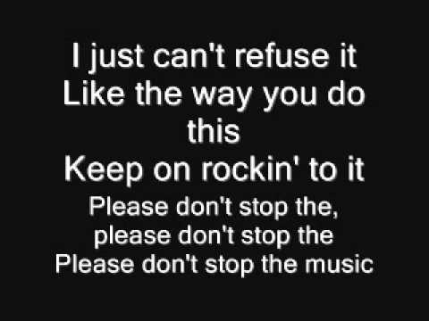 Rihanna   Don't Stop The Music LYRICS)   YouTube