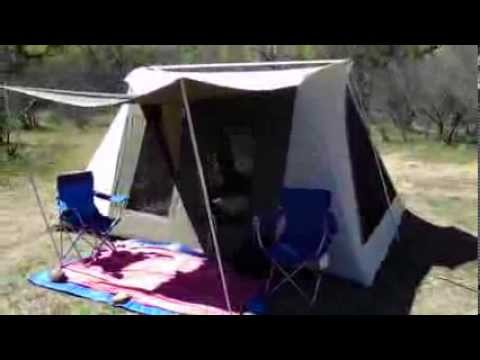 & Kodiak Tent 10u0027 x 14u0027 and 2014 Subaru Forester - YouTube