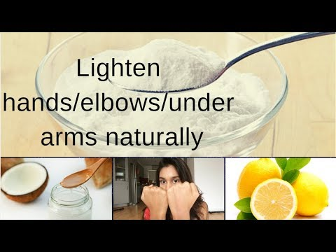 Diy Scrub To Lighten Skin Hands Under Arms And Legs Naturally