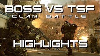 BOSS Vs TSF Clan Battle Highlights