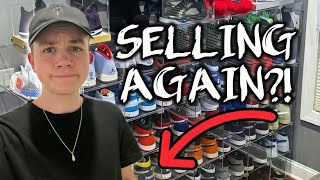 I Decided To Sell My Sneaker Collection Again...