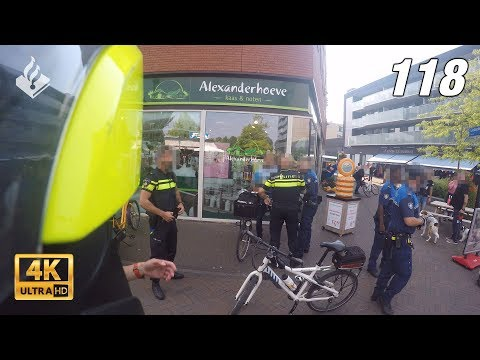Assistentie collega's handhaving. Politievlogger Jan-Willem 👮