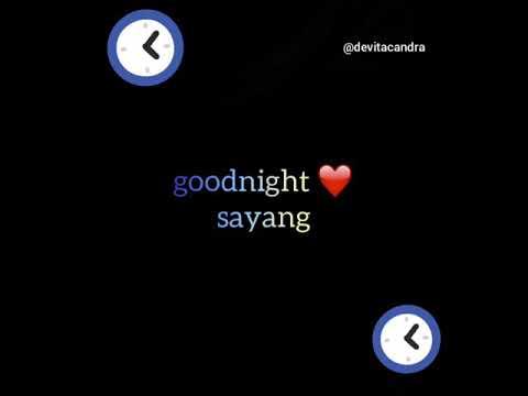 Story Wa Buat Pacar Ucapan Selamat Malam
