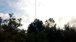 видео Вертикал на 40 и 20 метровые диапазоны.