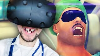 SURGERY ON THE MOVE | Surgeon Simulator VR #4 (HTC Vive Virtual Reality)