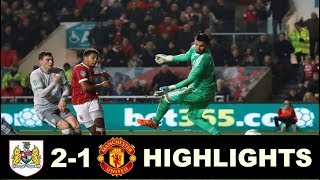 Bristol City vs Manchester United 2 1  All Goals & Extended Highlights - Carabao Cup 20/12/2017