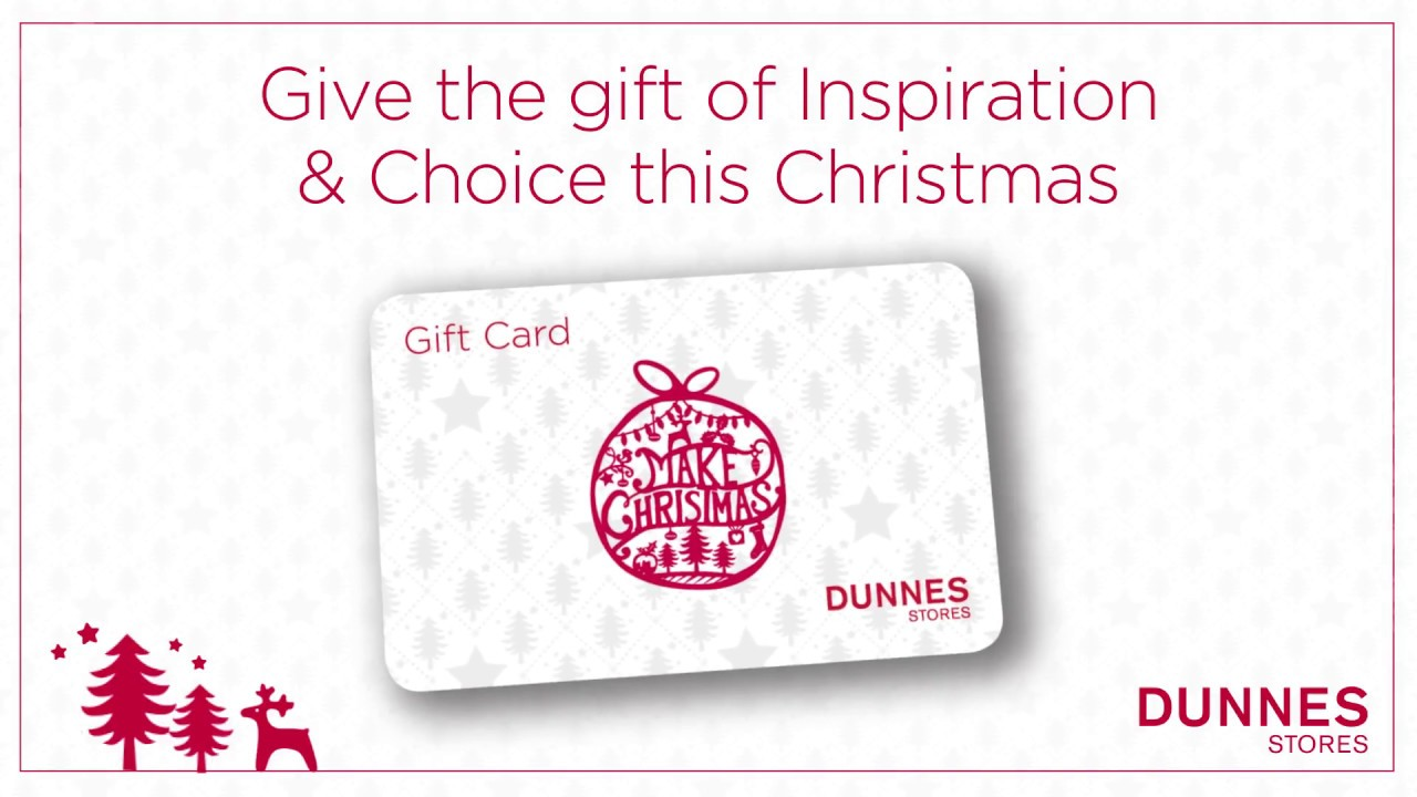 make christmas with a dunnes store gift card youtube