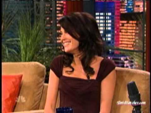 Teri Hatcher on The tonight Show (2007)