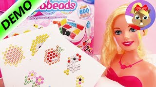 PIMP MY BARBIE | Ozdóbki do włosów dla Barbie - Aquabeads zrób to sam | Baw się ze mną