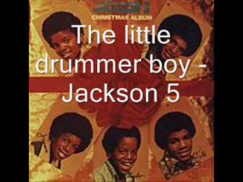 The little drummer boy - Jackson 5 [HQ]