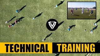 Technical Football Training | Group Session | U13-U14-U15 | Thomas Vlaminck