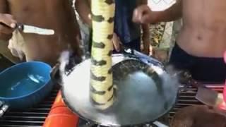 ต้มยำงูสูตรเด็กเขมร By อีสานบ้านเรา พาเพลิน