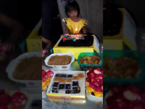 Happy 2nd birthday baby preileen keishus d narag