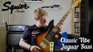 Squier CV Jaguar Bass | All You Need To Know Bass Show!