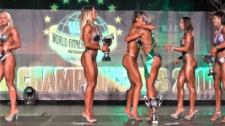 Results – Women  Athletic - WFF World Championship 2016
