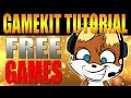 FREE GAMES - How to Get FREE Games By Playing Games! Gamekit Giveaways Too!