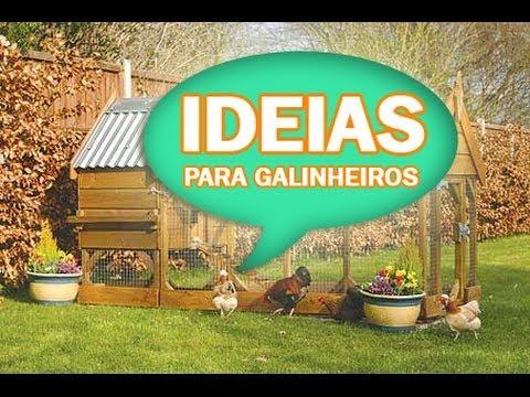 Ideias para seu galinheiro !!! Vários modelos e projetos.