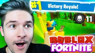 MY BEST GAME OF ROBLOX FORTNITE *VICTORY ROYALE* (Island Royale)