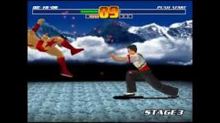 Fighter Maker Gameplay PS1