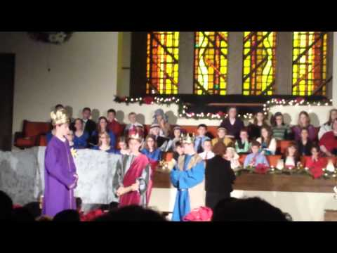 Wiseman scene from Massillon Christian School