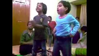Nandi Konda Vagullona - Live Performance by 4-year Old Kids