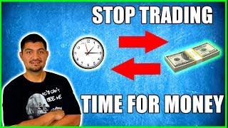 Stop Trading Your Time For Money:  Passive Income Methods