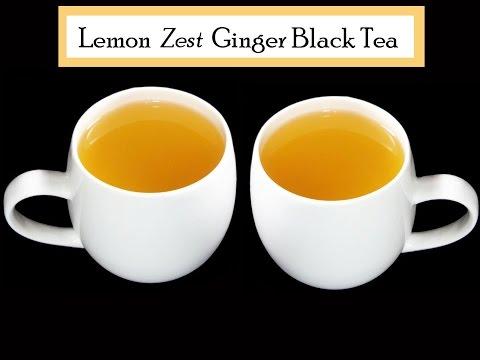 Lemon Zest & Ginger Tea - Andhra Cooking Telugu Vantalu Indian Food & Cooking