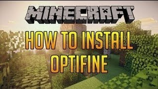 how to install optifine for minecraft [1.7.10] (Windows 7)