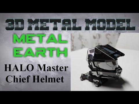 Metal Earth Build - Halo Master Chief Helmet