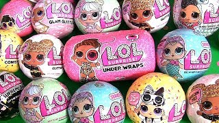 LOL Surprise Dolls LIMITED EDITION GLITTER Confetti Pop Ultra Rare Baby toys review