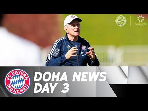 Heynckes reflects on his first days in Doha; Hummels and Lewandowski working hard | DOHA DAY 3