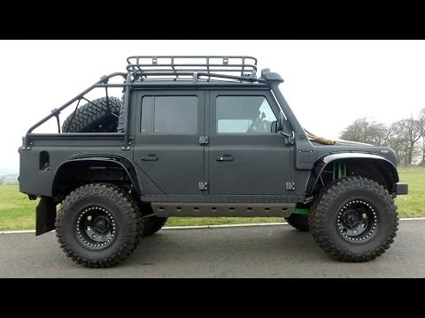 I Drive James Bond's Land Rover Spectre Defender