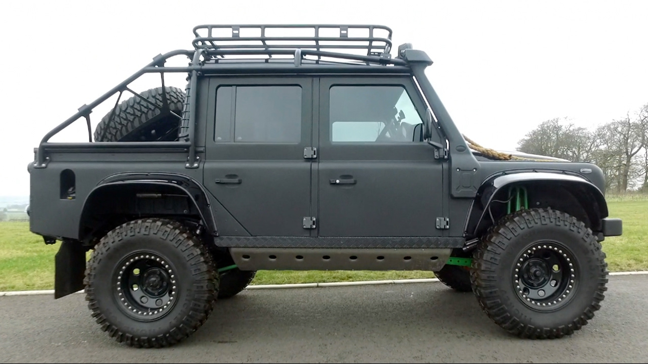 I Drive James Bond\u0027s Land Rover Spectre Defender  0