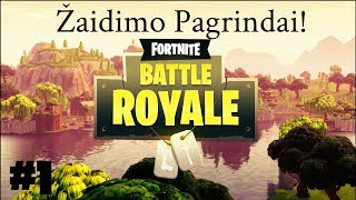 Fortnite - Žaidimo Pagrindai #1