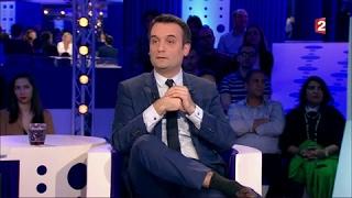 Florian Philippot - On n'est pas couché 1er avril 2017 #ONPC