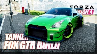 Forza Horizon 4 - NEW Customization, Tanner Fox GT-R Build!