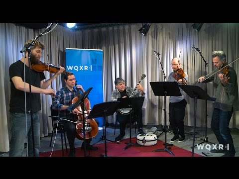 Listen to Béla Fleck and Brooklyn Rider Play 'Griff' (Part I) Live in the WQXR Studio