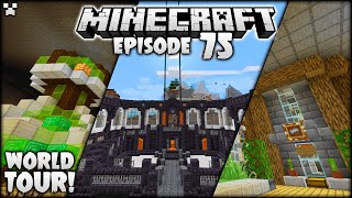 I Did ALL This In 5 Months! | Minecraft Survival Ep.75 Tour
