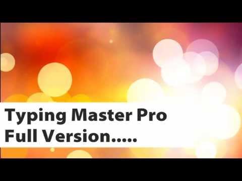 typing master pro crack file