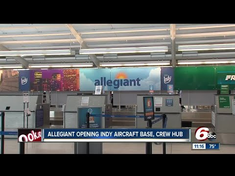 Allegiant airlines wants to fill 66 positions for new Indianapolis base